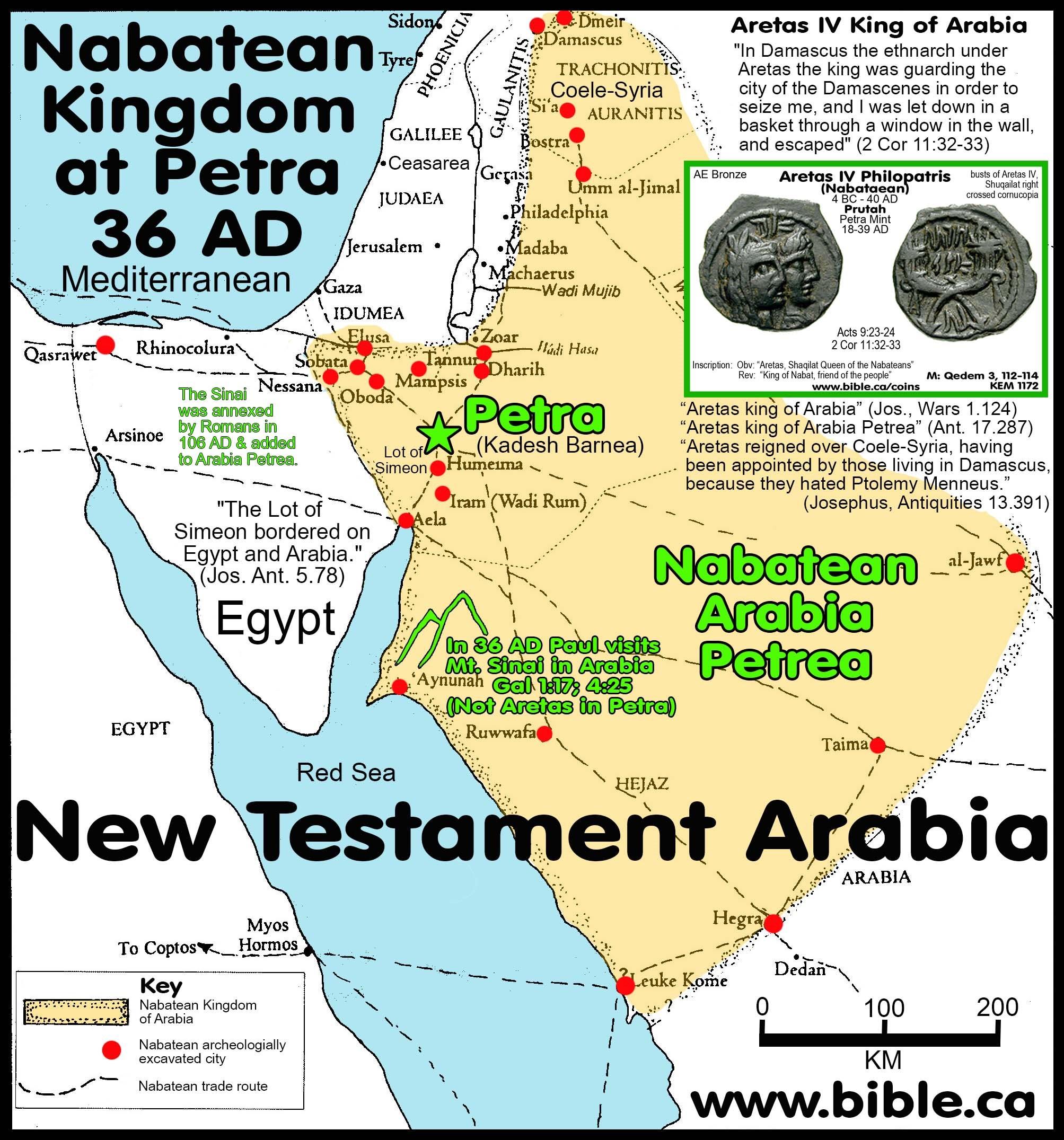 Artikel – The Nabatean Kingdom | Lunds Mynthandel